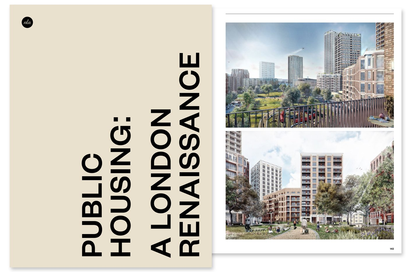 public housing a London renaissance NLA
